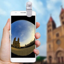 Fisheye Lenses for Mobile Phone