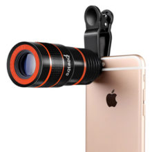 8X Zoom Portable Telescopic Phone Lens