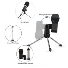 Professional Wired Handheld Condenser Microphone